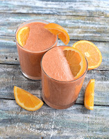 Orange Carrot Immune Boosting Smoothie