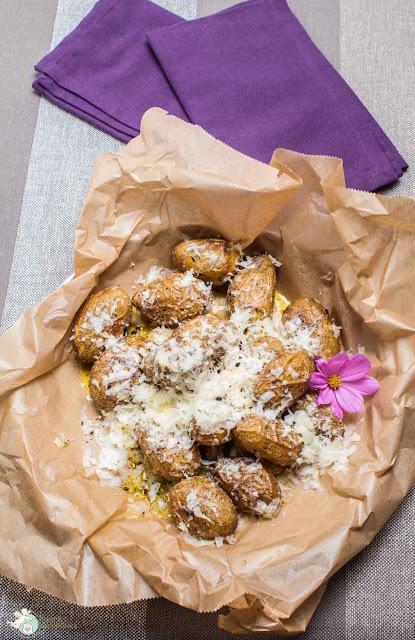 Kartoffeln mit Pecorino und Pfeffer