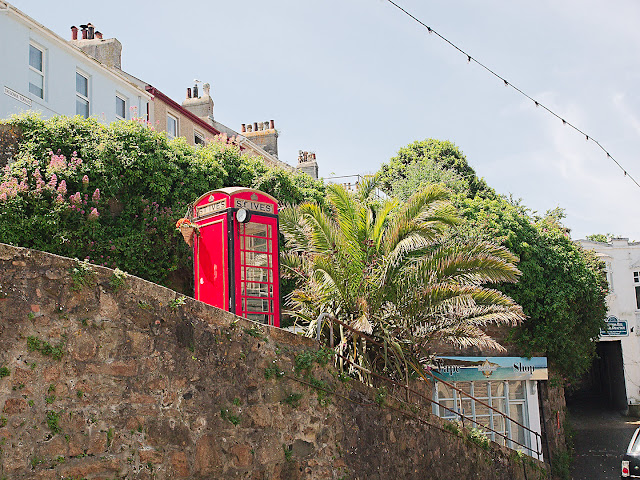 St. Ives Telefonzelle