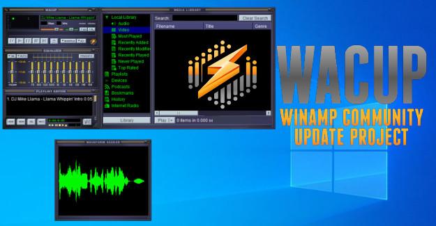 WACUP - Η ενημερωμένη έκδοση του θρυλικού WinAmp ανεπτυγμένη από την κοινότητά του