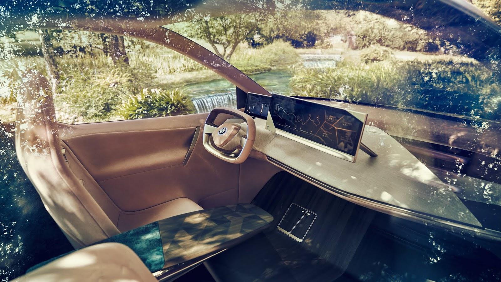 Ein Hingucker | Der BMW Vision iNext Concept Elektro-Crossover