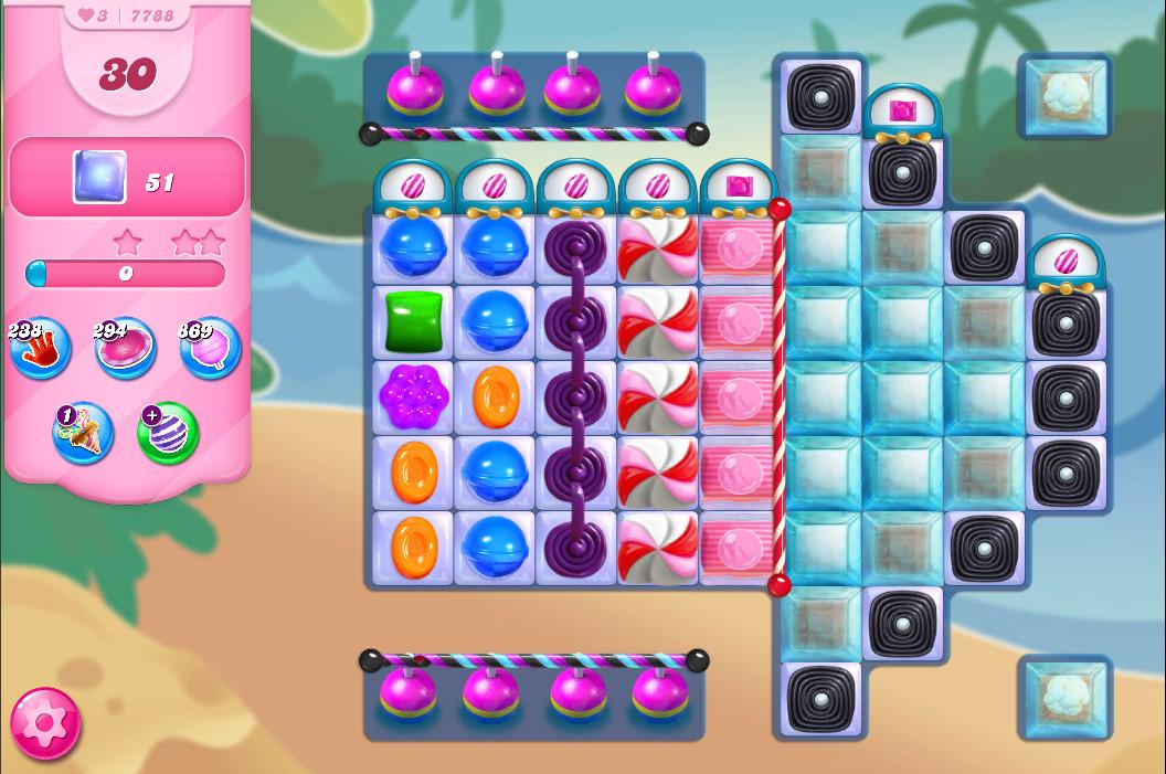 Candy Crush Saga level 7788