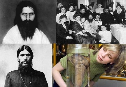 Grigori Rasputin'in Müzede Sergilenen Organı