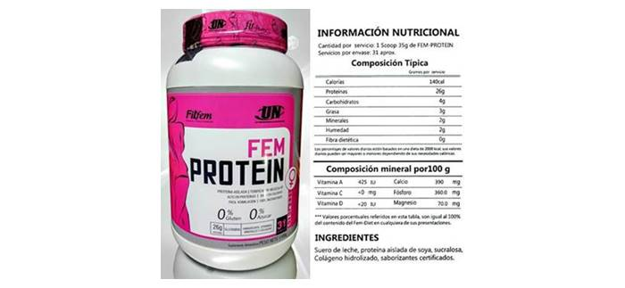 La whey protein Fem ayuda a ganar masa muscular en mujeres