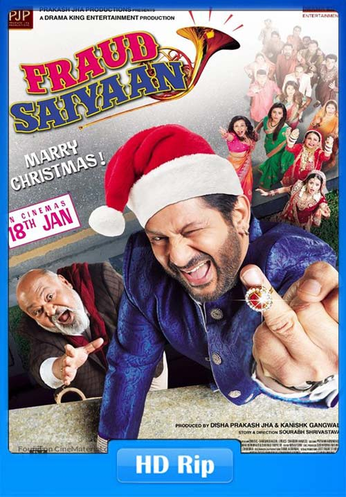 Fraud Saiyyan 2019 Hindi 720p HDRip x264 | 480p 300MB | 100MB HEVC