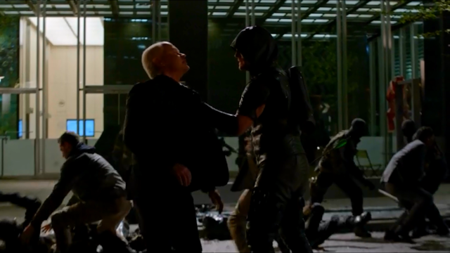 arrow darhk vs oliver