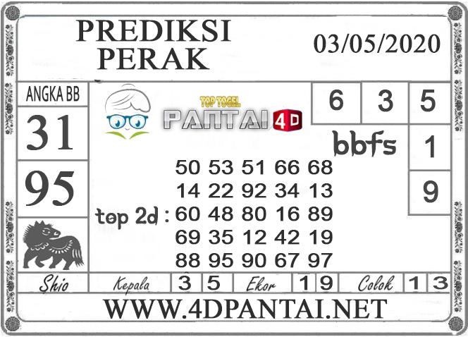 PREDIKSI TOGEL PERAK PANTAI4D 03 MEI 2020
