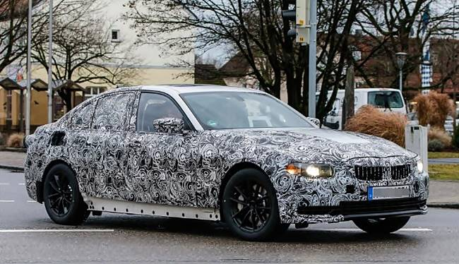 2018 BMW 3 Series G20 Electric Version