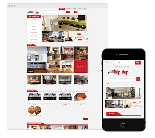 Thái AiTi giới thiệu Template, giao diện mẫu Cook, tủ bếp,đồ gia dụng