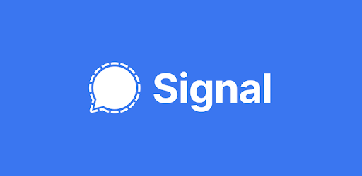 Signal icon -An instant messaging app