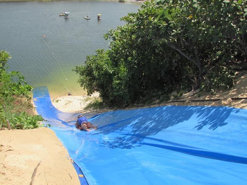 Lagoa de Jacumã: eskibunda, aerobunda, kamikase