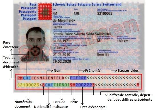 numéro d identification carte d identité Bahut: Cartes d'identité et passeports suisses