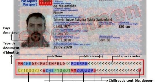 numéro de document carte d identité Bahut: Cartes d'identité et passeports suisses