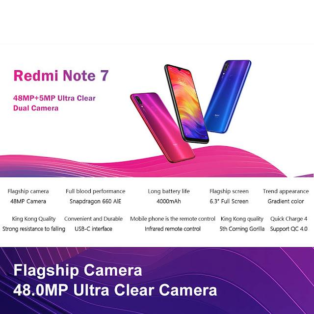 Camera Redmi note 7