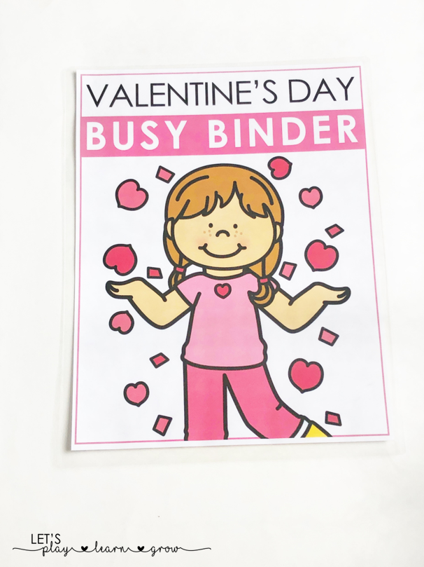 Valentine's Day Busy Book Cover