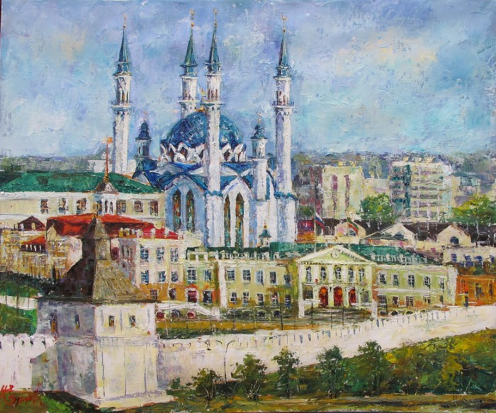 Российский художник. Еникеев Юнис 5
