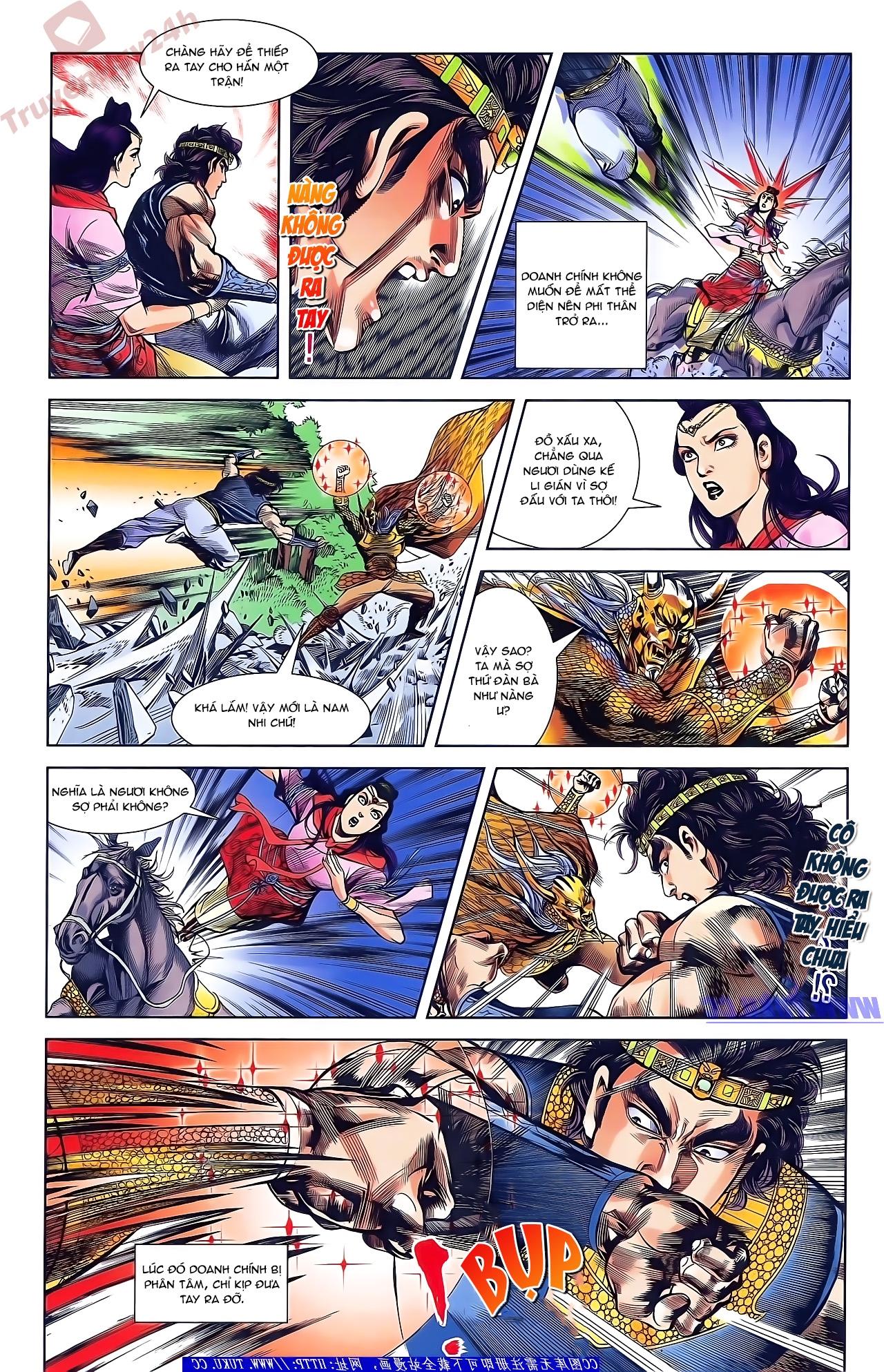 Tần Vương Doanh Chính chapter 49 trang 15
