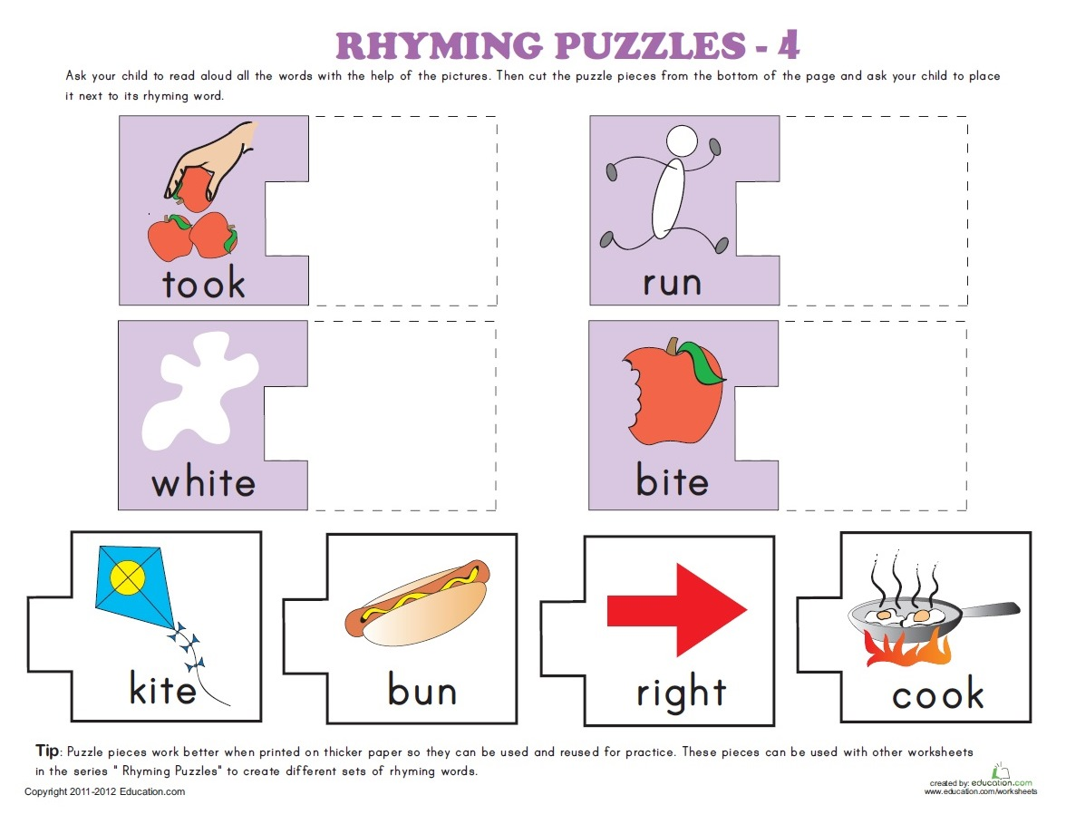 Download Rhyming Puzzles