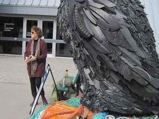 Angela Haseltine Pozzi talks about Washed Ashore at The Toronto Zoo.