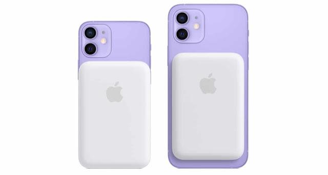 آبل تطلق بطارية MagSafe الإضافية لجهاز iPhone 12