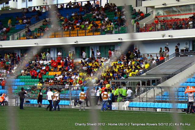 A sight at Jalan Besar Stadium before a match