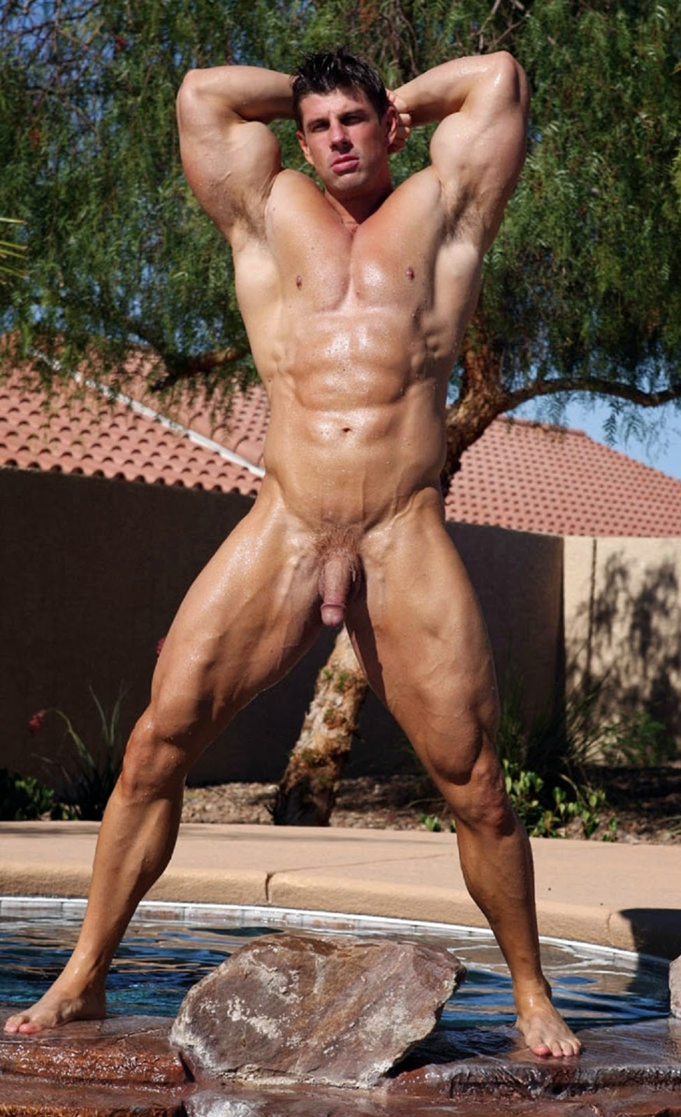 Bodybuilder Male Naked
