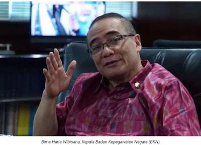 Kepala BKN Bima Haria Wibisana: Mungkin 10 Tahun Lagi Tak Ada PNS