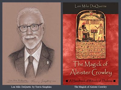 Lon Milo DuQuette. The Magick of Aleister Crowley. Ordo Templi Orientis. OTO. Thelema. by Travis Simpkins