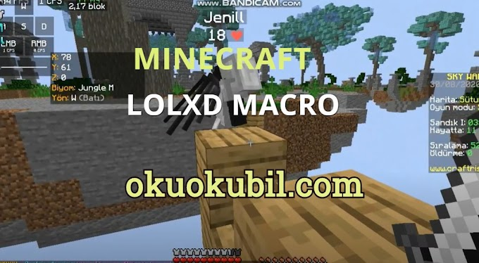 Minecraft Craftrise Lolxd Autoclicker kurulum Makro Hilesi 2020