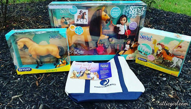 Netflix series, DreamWorks, holiday gift guide, holiday gifts, gifts for kids, Breyer