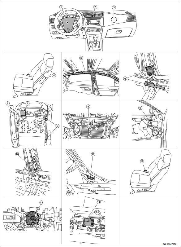 Sentir de impacto Air bag Index31