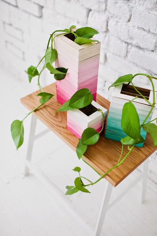 DIY | Jarrones con palos de helado