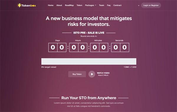 Tokenbox - Best Security Token Offering Platform (STO)