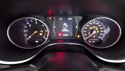 Jeep Compass Speedometer