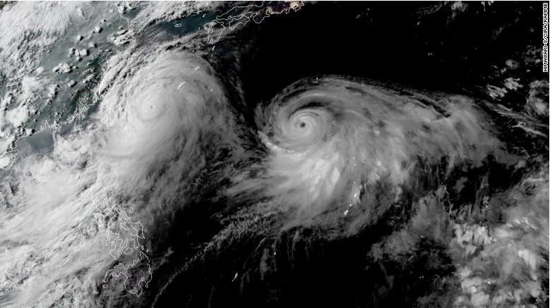Taiwan Dihantam Topan Super Lekima, 15 Penerbangan Dari dan ke Hong Kong  di Batalkan