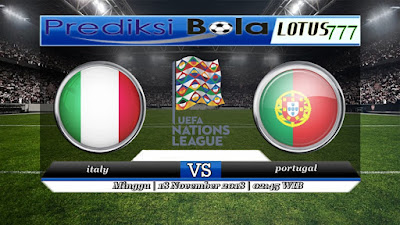 Prediksi pertandingan italy vs portugal 18 november 2018