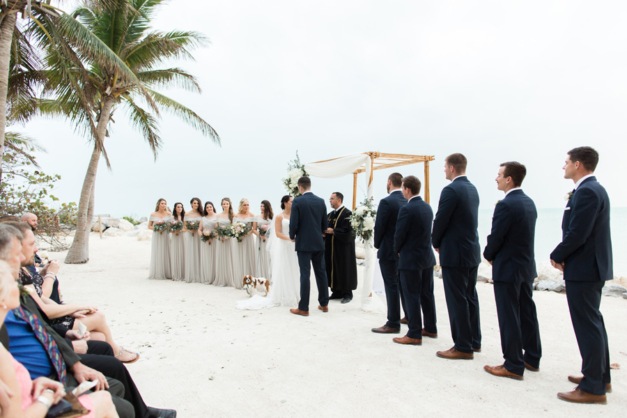 Stunningly Elegant Key West Real Wedding