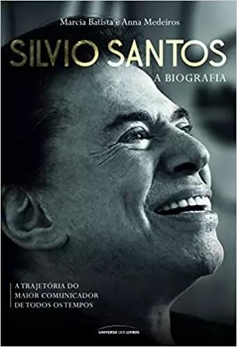 Livro Silvio Santos: A Biografia - Capa comum