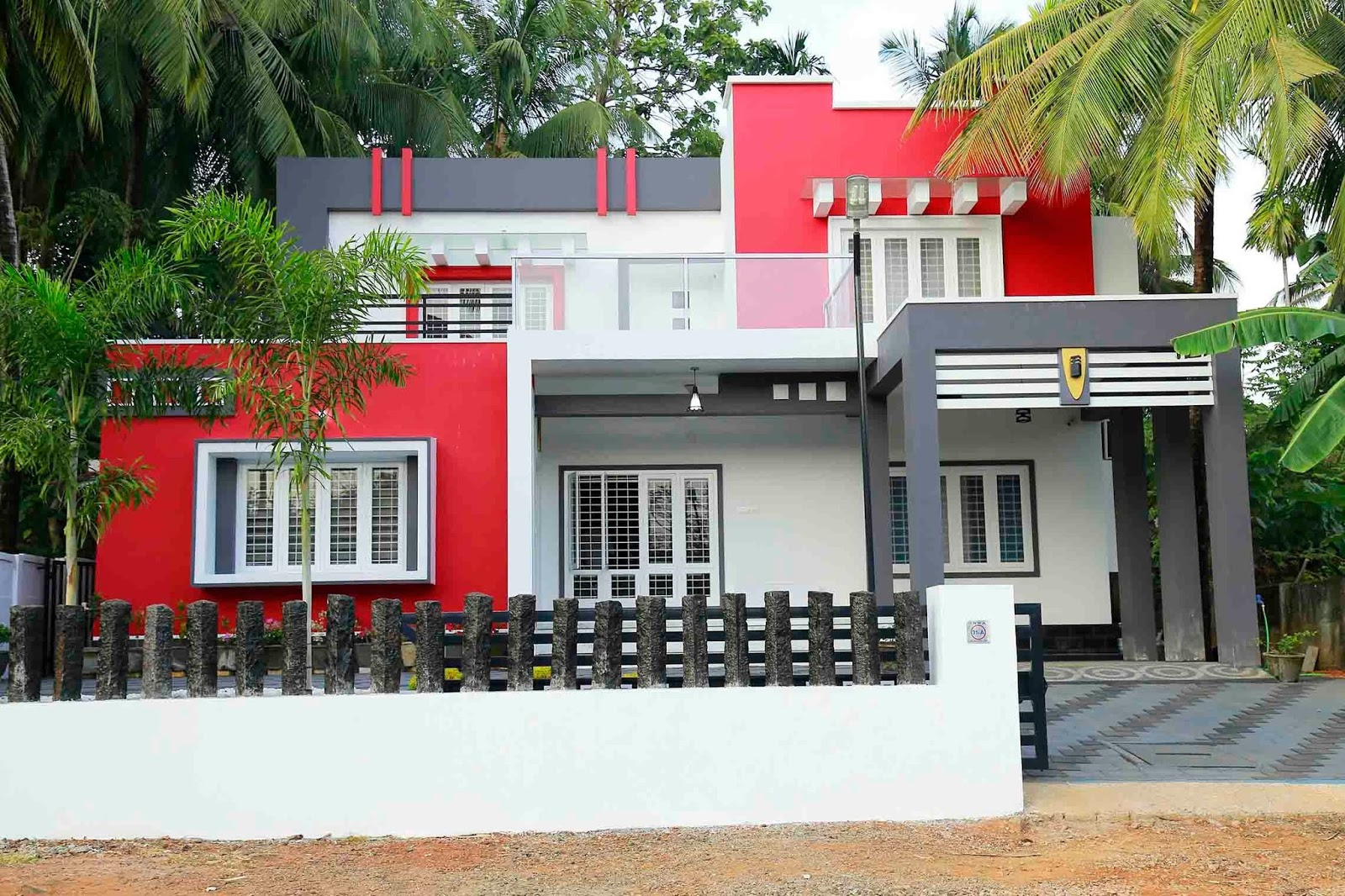 3 bedroom modern contemporary home design in 2327 sqft for Free contemporary house plans