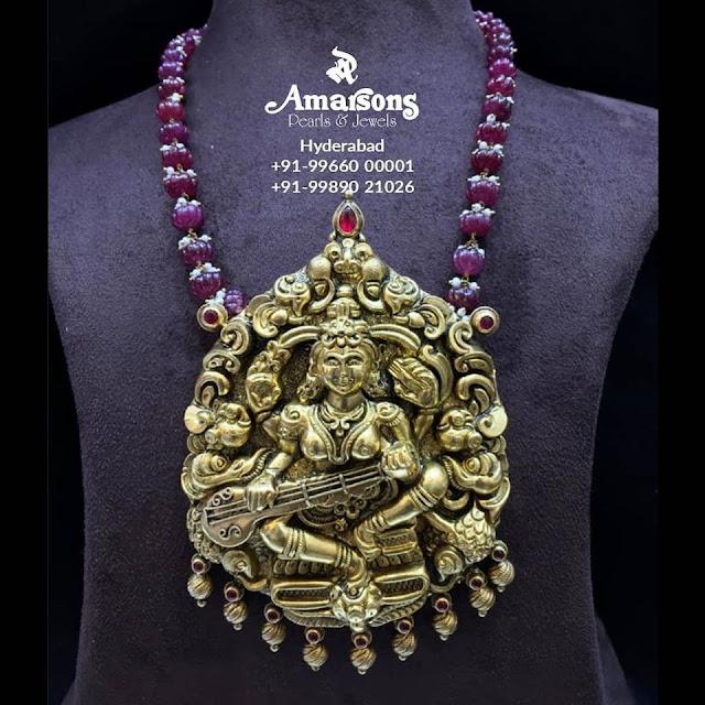 Radha Krishna Pendant by Amarsons