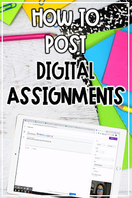 Learn how to post digital assignments through Google Classroom and Schoology following the steps and video to help the eLearning classroom.