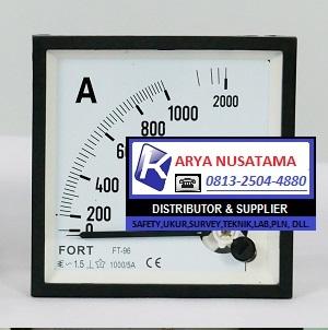 Jual FORT Panel Meter 0 - 1000/5 A di Bekasi