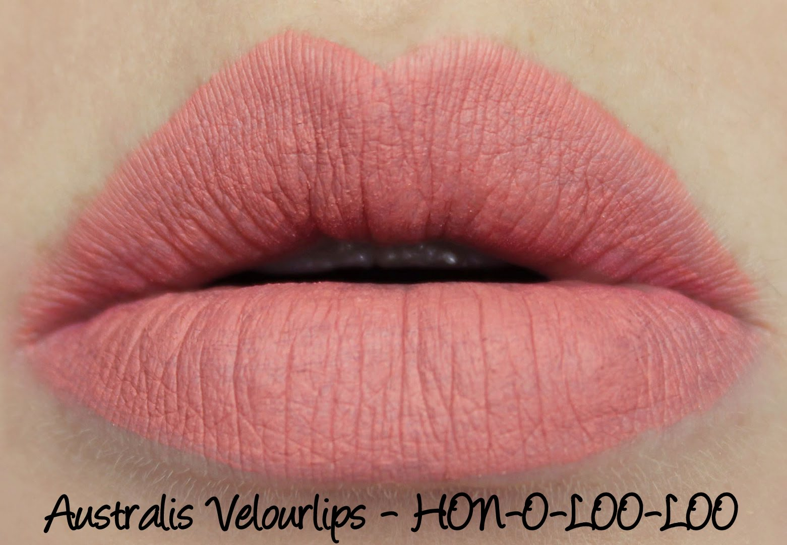 Australis Velourlips - HON-O-LOO-LOO Swatches & Review