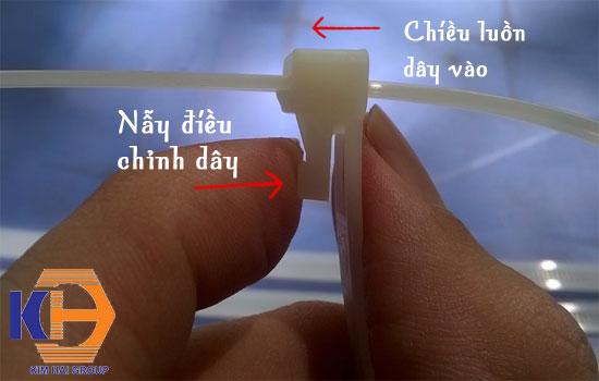 dây thít nhựa tái sử dụng nhiều lần 30cm