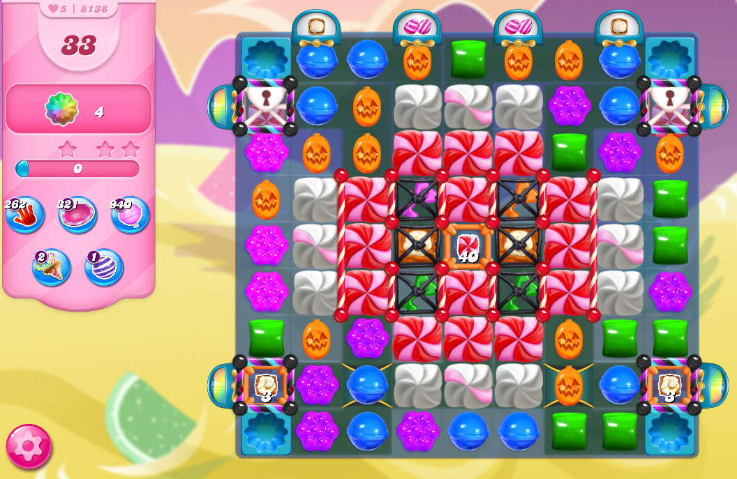 Candy Crush Saga level 8138