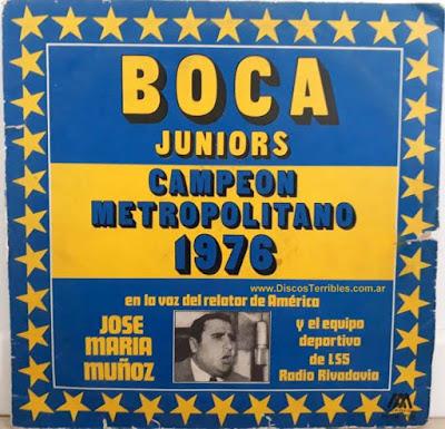 Jose Maria Muñoz Boca Campeón