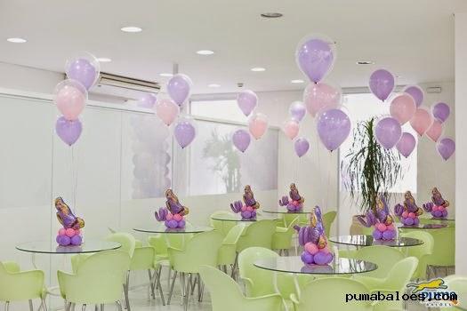 centro de mesa Rapunzel