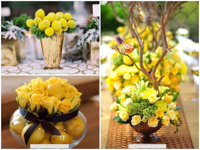 festa ano novo amarelo