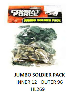 5 PMS And Similar Rack Toy Armyman Sets & Accessories 205442-001 99p Stores; Army Men; Armymen; Battle Squdron; Combat Force; HL269; Jumbo Soldier Pack; Marshall Group Limited; Military Action; Plastic Toy Figures; Plastic Toy Soldiers; Rack Toy; Rack Toy Month; RTM; Small Scale World; smallscaleworld.blogspot.com; Tank Toy; Toy Soldiers; Watchtower;
