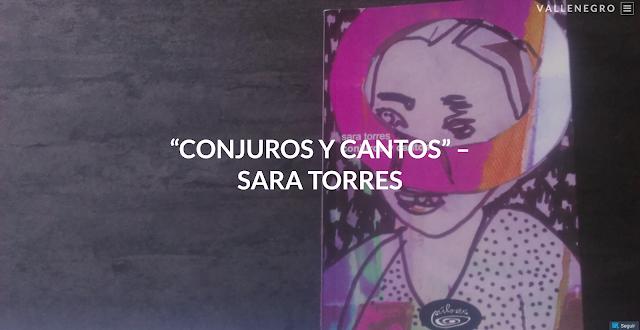 """MIGUEL LUIS ÁLVAREZ """"Conjuros y cantos"""" -Sara Torres"""